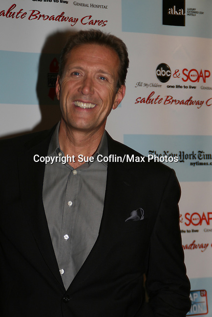 """All My Children's Walt Willey """"Jack"""" attends the after party of ABC and SOAPnet's Salutes to Broadway Cares/Equity Fights Aids on March 9, 2009 at the New York Marriott Marquis, New York, NY.  (Photo by Sue Coflin/Max Photos)"""