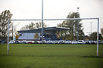 Curzon Ashton v Exeter City, 08/11/2008. FA Cup first round, Tameside Stadium. Curzon Ashton's Tameside Stadium, Ashton-under-Lyne pictured before their FA Cup first round tie against Exeter City. The home team, who play in the Unibond first division north won the match 3-2 against their opponents from Coca Cola League 2, four divisions above Curzon Ashton. It was the home side's first-ever appearance in the FA Cup proper and their reward for winning the match was an away tie at Conference team Kidderminster Harriers. Photo by Colin McPherson.