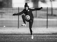 Frisco, TX - February 8, 2016: The USWNT trains in preparation for the CONCACAF Women's Olympic Qualifying Tournament.