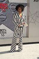 LOS ANGELES, CA - JUNE 26: Janelle Monae at the 2016 BET Awards at the Microsoft Theater on June 26, 2016 in Los Angeles, California. Credit: David Edwards/MediaPunch
