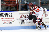 Steven Whitney (BC - 21), Wade MacLeod (Northeastern - 19) - The Northeastern University Huskies defeated the visiting Boston College Eagles 2-1 on Saturday, February 19, 2011, at Matthews Arena in Boston, Massachusetts.