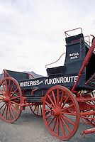 Carcross, YT, Yukon Territory, Canada - Antique Horse Carriage for Royal Mail, White Pass and Yukon Route