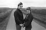 John and Fiona Donnelly temporarily reunited across the border in Donegal Ireland, where he is on the run. Accused by supergrass Raymond Gilmour of possessing a rifle, Donnelly jumped bail and fled. 1983.