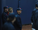 Head coach Mike Bianco at Ole Miss baseball alumni game at Oxford-University Stadium in Oxford, Miss. on Saturday, February 5, 2011.
