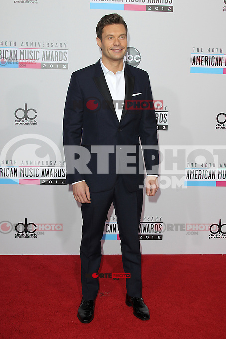 LOS ANGELES, CA - NOVEMBER 18: Ryan Seacrest at the 40th American Music Awards held at Nokia Theatre L.A. Live on November 18, 2012 in Los Angeles, California. Credit: mpi20/MediaPunch Inc. NortePhoto