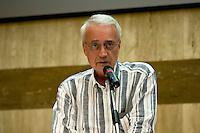 Roma 8 Settembre 2013<br /> Assemblea  in difesa della Costituzione.<br /> Paolo Flores d'Arcais, direttore di Micromega