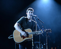BOCA RATON - JULY 15: Shawn Mendes performs on opening night of his world tour at The Mizner Park Amphitheatre on July 15, 2016 in Boca Raton, Florida. Credit: mpi04/MediaPunch