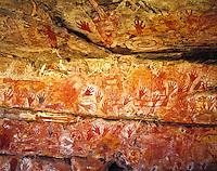Rock Art at Major Art, Arnhem Land, Northern Territory, Australia
