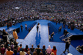 Denver, Colorado<br /> August 28, 2008<br /> <br /> I.Am, whose music video on behalf of Barack Obama became an online sensation, perform 'Yes We Can' at the final night of the Democratic National Convention in Denver's Mile High Stadium.