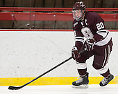 Jeremy Price (Colgate - 20) - The Harvard University Crimson defeated the Colgate University Raiders 4-1 (EN) on Friday, February 15, 2013, at the Bright Hockey Center in Cambridge, Massachusetts.