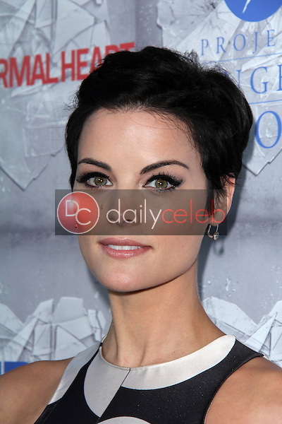 Jaimie Alexander<br /> at the HBO Premiere of &quot;The Normal Heart,&quot; WGA Theater, Beverly Hills, CA 05-19-14<br /> David Edwards/DailyCeleb.com 818-249-4998