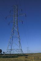 Power Pylons across Farm Lands