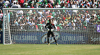 Guillermo Ochoa. Mexico defeated Nicaragua 2-0 during the First Round of the 2009 CONCACAF Gold Cup at the Oakland, Coliseum in Oakland, California on July 5, 2009.
