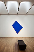 """Blue Panel"" by Ellsworth Kelly in the modern art section of the West Building."