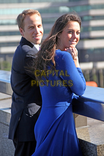 Prince William and Kate Middleton Lookalikes photocall ...
