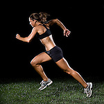 Running: Model Released Fitness Model