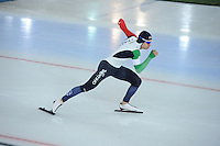 SPEED SKATING: HAMAR: Vikingskipet, 04-03-2017, ISU World Championship Allround, 500m Men, Nicola Tumolero (ITA), ©photo Martin de Jong
