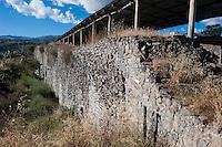 Ciudadela pre-inca Wari, Ayacucho, Peru.