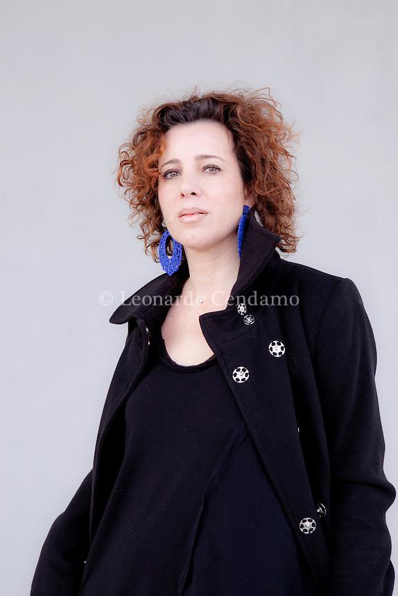 """Antonella Gatti Bardelli. italian writer. Ronchi di Percoto """" Udine """" Gennaio, 2012.  © Leonardo Cendamo"""