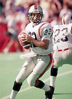 Doug Flutie BC Lions quarterback. Copyright photograph Scott Grant