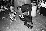 Drunk at the Berkley Square Ball, London 1981