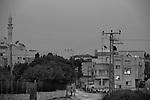 Men walk in Hableh.