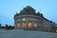 Bode Museum, completed 1904 by Ernst von Ihne, housing collections of sculpture, Byzantine art, and coins and medals, Museum Island, Mitte, Berlin, Germany. Originally called the Kaiser-Friedrich-Museum after Emperor Frederick III, the museum was renamed in honour of its first curator, Wilhelm von Bode, in 1956. The buildings on Museum Island were listed as a UNESCO World Heritage Site in 1999. Picture by Manuel Cohen