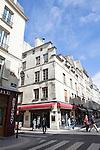 Intersection of Rue des Deux Ponts and Rue Saint-Louis en L'ile, Ile Saint-Louis, Paris, France, Europe