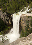 Extraordinary view of Vernal Falls, Yosemite - 2011