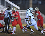 Lafayette High's John Murphree (5) vs. Duval Charter in Oxford, Miss. on Friday, September 7, 2012. Lafayette High won 69-0.