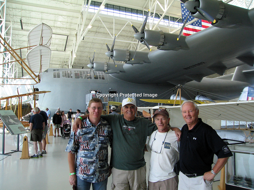 Jim,Ron B.,Mike & Ron at McMinville museum.