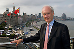 Anthony Bolton,  Fidelity China Special Situations PLC manager visited 3 on the Bund in Shanghai. July 20th 2010