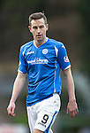 St Johnstone v Motherwell&hellip;20.02.16   SPFL   McDiarmid Park, Perth<br />Steven MacLean<br />Picture by Graeme Hart.<br />Copyright Perthshire Picture Agency<br />Tel: 01738 623350  Mobile: 07990 594431