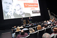 PHILADELPHIA, PA - MARCH 15 : Danny Boyle pictured during a Q&A following a special screening of his new Sony Pictures Film, T2 Trainspotting at The Ritz 5 Theater in Philadelphia, Pa on March 15, 2017  ***HOUSE COVERAGE***  photo credit Star Shooter/MediaPunch