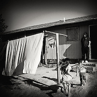 Republic of Lakotah.Pine Ridge Indian Reservation, South Dakota..Pine Ridge is the poorest Indian reservation in the United States. Almost have of it's residents live below the poverty line and unemployment is around 80%. .