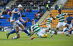 St Johnstone v Celtic&hellip;.McDiarmid Park, Perth.. 11.05.16<br />Joe Shaughnessy&rsquo;s effort goes wide<br />Picture by Graeme Hart.<br />Copyright Perthshire Picture Agency<br />Tel: 01738 623350  Mobile: 07990 594431