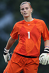 15 September 2011: Charleston's Taylor Avery. The Duke University Blue Devils defeated the College of Charleston Cougars 3-0 at Koskinen Stadium in Durham, North Carolina in an NCAA Division I Women's Soccer game.
