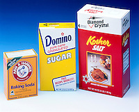 COMMON HOUSEHOLD CHEMICALS<br /> Baking Soda; Sugar; Salt<br /> 1 pound of baking soda, 2 pounds of sugar and 3 pounds of salt.