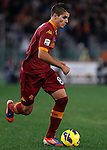 Calcio, Serie A: AS Roma vs Torino. Roma, stadio Olimpico, 19 novembre 2012..AS Roma forward Erik Lamela, of Argentina, in action during the Italian Serie A football match between AS Roma and Torino at Rome's Olympic stadium, 19 November 2012..UPDATE IMAGES PRESS/Isabella Bonotto
