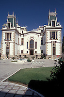 The Quinta Gameros, an art nouveau mansion that houses the Centro Cultural Universitario in the city of Chihuahua, Mexico