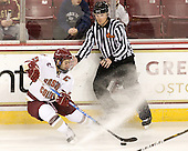 Joe Whitney (BC - 15) - The Boston College Eagles defeated the visiting University of Vermont Catamounts 6-0 on Sunday, November 28, 2010, at Conte Forum in Chestnut Hill, Massachusetts.