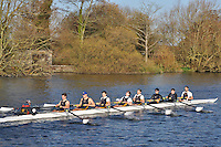 156 .Southampton A .IM1.8+ .Southampton Univ. Wallingford Head of the River. Sunday 27 November 2011. 4250 metres upstream on the Thames from Moulsford railway bridge to Oxford University's Fleming Boathouse in Wallingford. Event run by Wallingford Rowing Club.