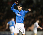 St Mirren v St Johnstone...06.12.14   SPFL<br /> Brian Graham reacts aftyer hitting the post<br /> Picture by Graeme Hart.<br /> Copyright Perthshire Picture Agency<br /> Tel: 01738 623350  Mobile: 07990 594431