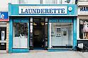 London Road Launderette, St Leonards, Hastings, East Sussex.