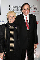 ANAHEIM, CA - NOVEMBER 01: Elizabeth Sherman, Richard Sherman at The Walt Disney Family Museum Gala at Disneyland on November 1, 2016 in Anaheim, California. Credit: David Edwards/MediaPunch