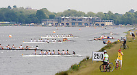 Eton,  GREAT BRITAIN. General Views of the Eton Course  at the Eton Schools' Regatta, Eton Rowing Centre, Dorney Lake. [Finish of cancelled National Schools Regatta], Saturday, 07/06/2008  [Mandatory Credit:  Peter SPURRIER / Intersport Images]. Rowing Courses, Dorney Lake, Eton. ENGLAND Eton College, Boat house,