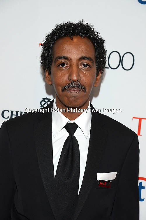 Mustafa Hassan attends the TIME 100 Issue celebrating the 100 Most Influential People in the World on April 21, 2015 <br /> at Frederick P Rose Hall at Lincoln Center in New York City, New York, USA.<br /> <br /> photo by Robin Platzer/Twin Images<br />  <br /> phone number 212-935-0770