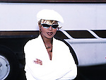 Mary J Blige 1995 at American Music Awards.© Chris Walter.