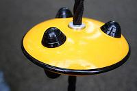 playground yellow disc