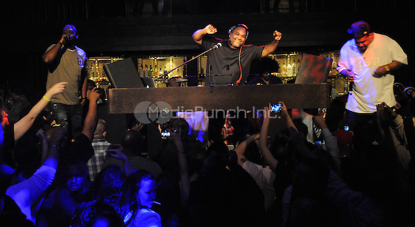 LAS VEGAS, NV - January 27 :  De La Soul performs at Body English at Hard Rock Hotel & Casino in Las Vegas, Nevada on January 27, 2013. © GDP Pics/ Starlitepics / MediaPunch Inc.